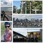 Cycling on the seawall in Vancouver today. Exploring Stanley Park & Granville Island #vacation #Canada https://t.co/HDAik92Bs4