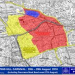 Travelling to #NottingHillCarnival today? Make sure you plan your journey with @TfL to avoid congestion #Croydoncops https://t.co/rMX97AV9F2