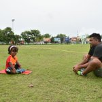 After completing #TrainingWithMvChamps Eash took it to the next level by Challenging @AliAshfaq07 to train with her. https://t.co/uZ1sGuaKXf