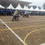 Now lets call these the #MotorBikeMen entertaining at the Cancer run 2016 #NBSCSR #RotaryCR16 @nbstv live https://t.co/A31HfzBZ6e