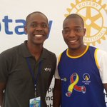 Kodak moment of our Team leader @Younisebz & CEO @yohomu @JmMuwonge @Rotaryvijanapoa Booth #RotaryCR16 https://t.co/ySnP7oqNaE