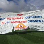 The banner. Onya Pav! #AFLFreoDogs https://t.co/gb0ygWCNQ7
