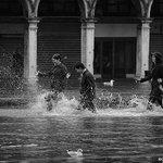 #Venice#Venezia 〰[#thisisVenice] 🆕: Acqua alta 〰Photo @chinellatophoto ≕≔ 👋YOU CAN HELP US… https://t.co/PSmz0QK9th https://t.co/QXZ3QgQao6