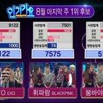 EXO Lotto #1 on this weeks SBS Inkigayo! 🏆🏆🏆 Congratulations! #Lotto3rdWin https://t.co/P54TwKesi2