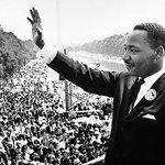 Den 28 augusti 1963 håller Martin Luther King sitt klassiska I have a dream-tal vid Lincolnmonumentet i Washington https://t.co/wLPgkD3cyh