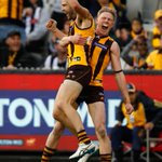 HAWKS WIN BY ONE-POINT! #AFLHawksPies https://t.co/F6TWWQEqct