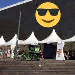 Auch heute haben wir unsere Zelte auf dem Grabbeplatz aufgebaut. @NRWTag2016 #NRWTag2016 #NRW70 #LassDichDrücken https://t.co/wR8vntki2M