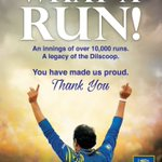 WHAT A RUN! #ThankYouDilshan https://t.co/9Re3ZgA6hX