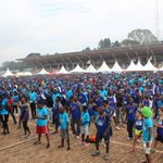 We didnt chicken out, we made it to the finish line like a chick looking for its mother #RotaryCR16 @AgaSekalala https://t.co/iieqqVM2GQ