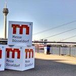 Guten Morgen von der unteren Rheinwerft in #Düsseldorf! Wir sind bereit für heute am #NRWTag2016. #lassdichdrücken https://t.co/2nA66sWX8F