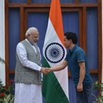 Meeting the skilled, talented & determined @JituRai was wonderful. Best wishes for his future endeavours. #Rio2016 https://t.co/IoWBgsSndo