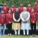 Our sportspersons, our pride! Met Arjuna Award winners and congratulated them. https://t.co/ptoR7yC2Jw