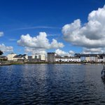 Fluffy clouds on a beautiful day in Galway City #lovegalway https://t.co/sGnqn8lW9r