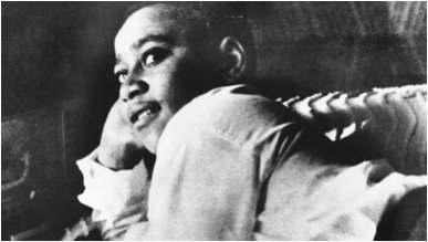 In 1955, Emmett Till (14) murdered 4 whistling at a white woman. His death sparked the modern Civil Rights Movement. https://t.co/B0LyC8Odc4