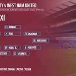 BREAKING: Team news includes a full debut for @AshFletcher___ and the return of @maanuulanzini10 ⚒ #MCYWHU https://t.co/RMDYgTjKBV