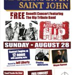 TODAY (12pm to 4pm) @EastPointSJ Benefit Concert - Aug 28 w/donations supporting brain cancer @CancerSocietyNB https://t.co/2VDhPrWytQ
