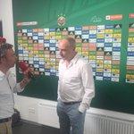 Jetzt bei der Aufzeichnung beim @ORF Interview Unser Geschäftsführer Sport, Andreas Müller #scrrbs https://t.co/ozTNB90LYT