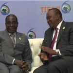 President Mugabe holds bilateral talks with Kenyan leader: https://t.co/q2eJThYUHN https://t.co/stWZfUkgkP