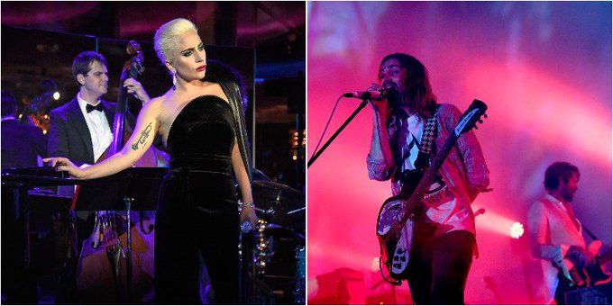 Lady Gaga @ladygaga: RT @pitchfork: Watch @ladygaga join @tameimpala on stage at @FYFFEST https://t.co/QOJu3zDoA6 https://t.co/osnlbmvcdd