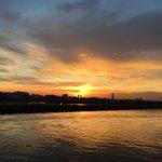 #karachi sunset ❤️ https://t.co/X3CfqUY638