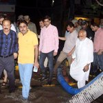 #Sindh Local Govt Minister @jamkhanshoro with MD KW&SB visited Shahra-e-Faisal Karachi to monitor dewatering work https://t.co/2SSHVIVyLD