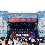 [#오늘의방탄] a-nation에서도 #방탄소년단  아주 불타~오르네🔥 응원해주신 팬 여러분 고맙습니다!! #anation2016 https://t.co/YR6HyKUZoj