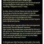 #Uber #London #NottingHillCarnival #deleteuber #ubered https://t.co/6hQnoUfyb2