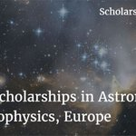 https://t.co/ebOB24C7F3 Beasiswa Astronomy & Astrophysics Erasmus Mundus, EROPA #Aug28 https://t.co/pDsmI6EZrH