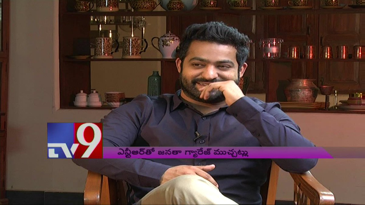 #JrNTR exclusively speaks to @TV9Telugu on #JanathaGarage !  Watch Here : https://t.co/BRjFJW4JG1 https://t.co/nDlh7p9t9z