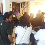 """""""I am a writer"""" Exhibition #HappeningNow at KAM Hotel https://t.co/PN8HCcBlIt"""