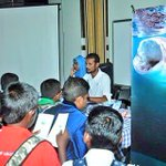 Our Biosphere Reserve Office staff giving information on Baa Atoll protected area at Baa Atoll #CareerDay https://t.co/4C2cZxuiIw