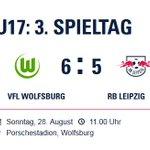 Die #RBLU17 unterliegt in Wolfsburg mit 5:6.RBL-Tore: E. Abouchabaka, L. Krüger, K. Ludewig, E. Majetschak, G. Kühn. https://t.co/5yjbTGCkV3