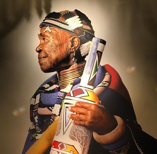 """The culture must not die."" - Custodian of Ndebele art, the phenomenal Mam' Esther Mahlangu for @belvederevodka https://t.co/09mL6GnY2o"