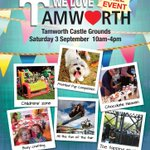 Come & see us at our fundraising stall at #WeLoveTamworth event #Tamworth Castle Grounds Sat.3rd Sept #dyslexia https://t.co/rkaQeZI9aN