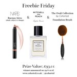 Its #FreebieFriday time RT+ F @cohorted  for a chance to #win goodies including #NARS & #MitchellandPeach & #Ovali 😳 https://t.co/PpY8DMU8nf
