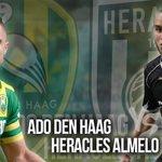 45+2. RUST! @ADODenHaag en @HeraclesAlmelo gaan met een 1-1 ruststand richting de thee #adoher https://t.co/H8ECLccxtj