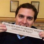 """Rivera: """"No voy a apoyar a Mariano #Rajoy. Si no gano, estaré en la oposición"""" (23/11/2015) #PactoCerradoARV https://t.co/ElO4JEF2sO"""