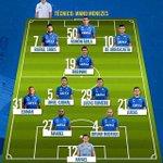 #Cruzeiro escalado pro jogo! 🐺 https://t.co/ekrxQiKgxG