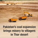 Excavation and power plants will displace thousands and deplete groundwater https://t.co/uZw9U1u1VI #Pakistan #Thar https://t.co/qCc2KZ8a6G