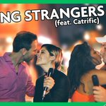 """NEW VIDEO: """"KISSING STRANGERS DRUNK (feat. @catrific)"""" (https://t.co/8DTFBIUuun) RT if you want a selfie of Cat & I https://t.co/v9fPfXEx2j"""