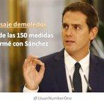 #150ReformasCs Cada vez que se dice esto, me siento mas orgullosa de Podemos. Esto os pasa por Pactar con FACHAS. https://t.co/GwPdK2sU7r
