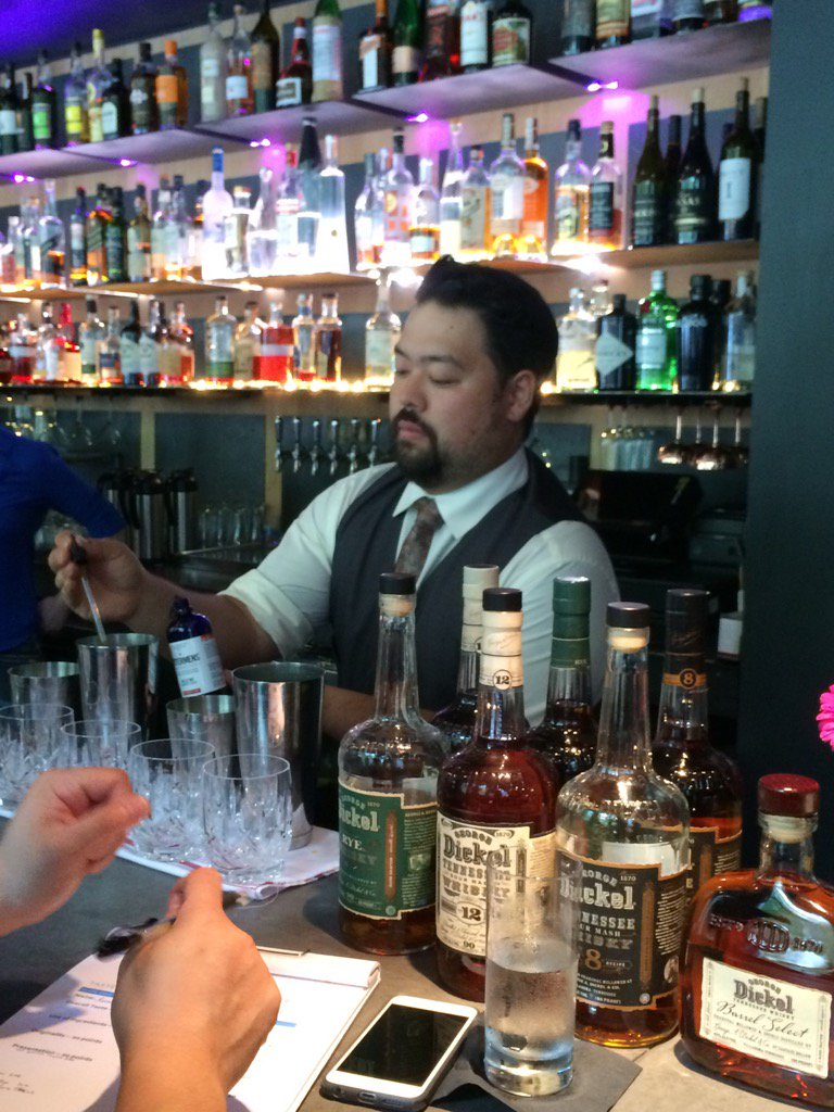 Nashville is in the house - last years finalist Ryan mixing up his Mango Unchained with Dickel #tasteofatlanta <a href=https://t.co/SZAJmHQtvG target=blank>https://t.co/SZAJmHQtvG</a>