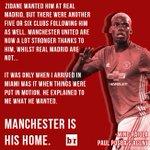 Paul Pogba is home. 🏠 https://t.co/dOcPyKCDY4