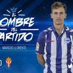 ¡@Marcos_Llorente ha sido elegido como mejor jugador del partido por la afición albiazul! Zorionak!! #AlavesSporting https://t.co/rxvcKHvwRn