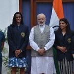 Honble Prime Minister Sri Narrndra Modi Ji with our Khel Ratnas, whose great performances made every Indian Proud. https://t.co/CcJF1IPn9b
