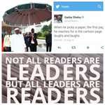 The best thing anybody can do for President Buhari right now is to buy him a bigger book and a smaller umbrella! https://t.co/SjqckKEKsJ
