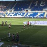 Ungewohnte Auswärtsatmo: @dierotenbullen sehen sich vor #TSGRBL im Stadion um.Pfiffe gibt es ausnahmsweise mal nicht https://t.co/085hUOs7Rs