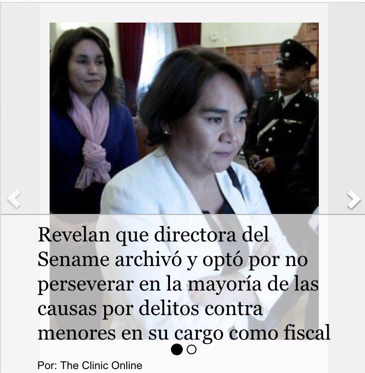 Esto sí es un escándalo... Como fiscal, Solange Huerta archivó las causas por delitos contra niños del Sename... https://t.co/YYKauRz7ue