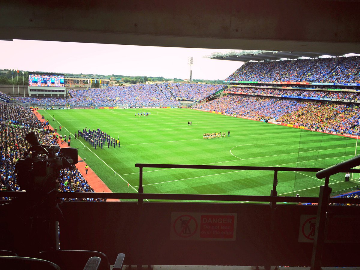 No other sporting event in Europe has attracted a crowd of this size this weekend! @SkySportsGAA Dublin v Kerry https://t.co/QLpVke7xiP