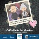 #SoyINAEBA felicita a las y los abuelitos en su día. https://t.co/GXjD0t6cb6